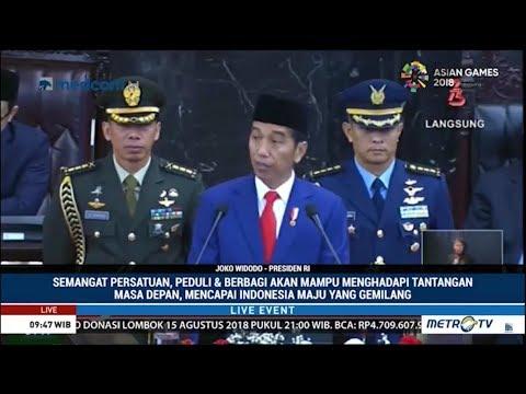 Pidato Presiden Jokowi Di Sidang Tahunan MPR 2018