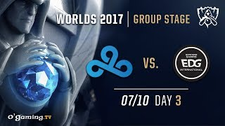 Cloud9 vs EDward Gaming - World Championship 2017 - Group Stage - Day 3 - League of Legends