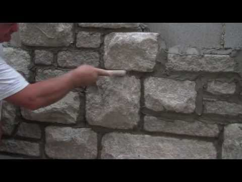 Finishing Mortar Joints with Arriscraft Building Stone