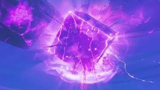 *HUGE* CUBE EXPLOSION GAMEPLAY in Fortnite! - Fortnite Cube CRACKS OPEN GAMEPLAY