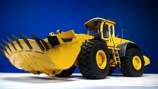 RC ADVENTURES - RC4WD 1/12th Scale Earth Mover 870K Hydraulic Wheel Loader