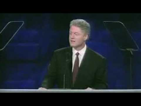 Watch President Clinton Accept the Democratic Nomination (Full Speech)