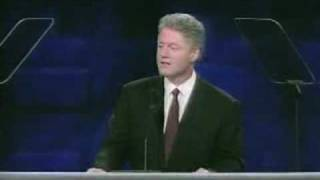 Watch President Clinton Accept the Democratic Nomination (Full Speech)