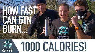 1000 Calorie Challenge | The Fastest Way To Burn 1000 Calories Running?