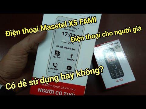 Điện thoại Masstel X5 FAMI – Điện thoại dành cho người già