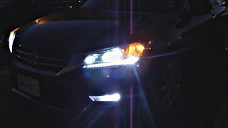 Honda Accord Bright white lights! 2013, 2014, 2015