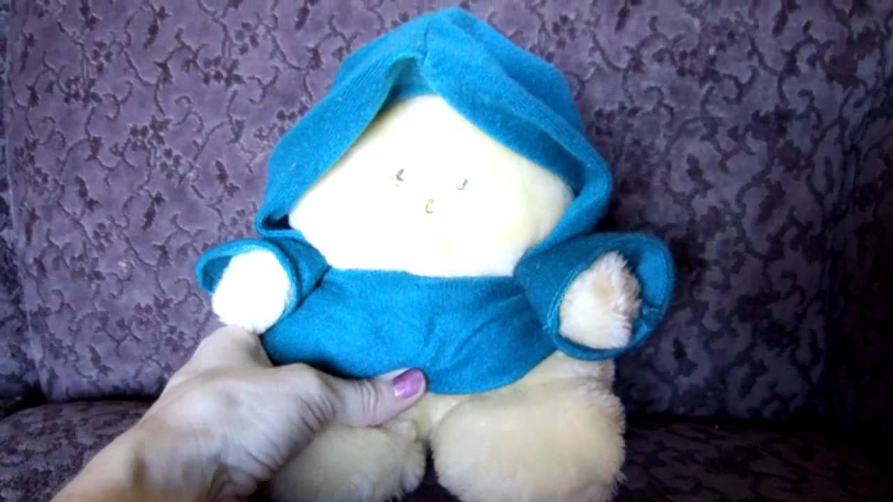 1980 S Animal Fair Chubbles Light Activated Plush Toy Youtube