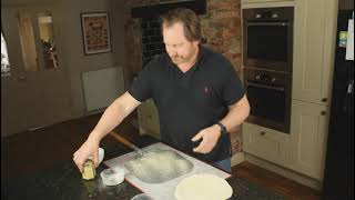 Great Balls of Flour - Passing your pizza off your paddle without it sticking