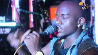 Karaoke Tabasam akiimba wimbo wa Lionel Rich - STUCK ON YOU @ Kwetu Pazuri