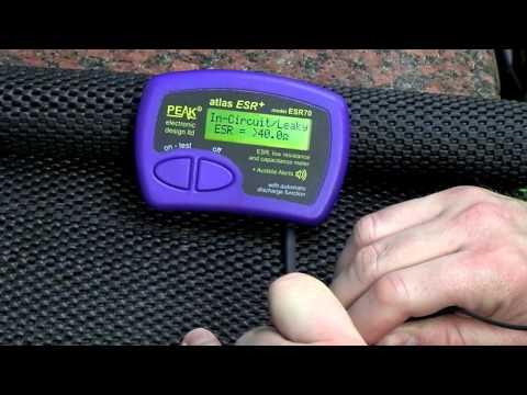 Peak Electronics ESR70 ESR & Capacitance Meter