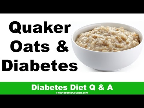 Is Quaker Oats Good For Diabetes
