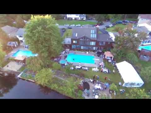 Drone mania at my son engagement party. Wow. You got to see this