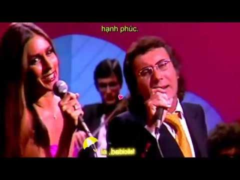 Felicidad - Albano y Romina Power - phụ đề karaoke TBN-Việt