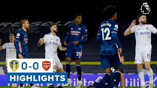 Download Leeds hit woodwork three times! | Highlights | Leeds United 0-0 Arsenal | 2020/21 Premier League