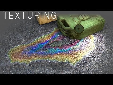 Gasoline Rainbow Texture in Photoshop