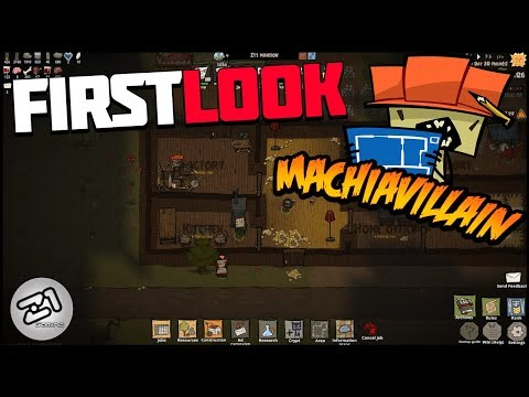 We Are The BAD GUYS! Machiavillain EP1 Gameplay First Look | Z1 Gaming