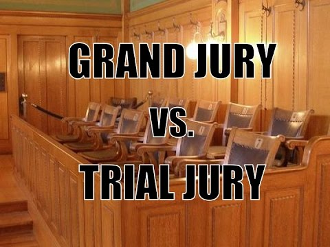 Differences in triel and grand jury