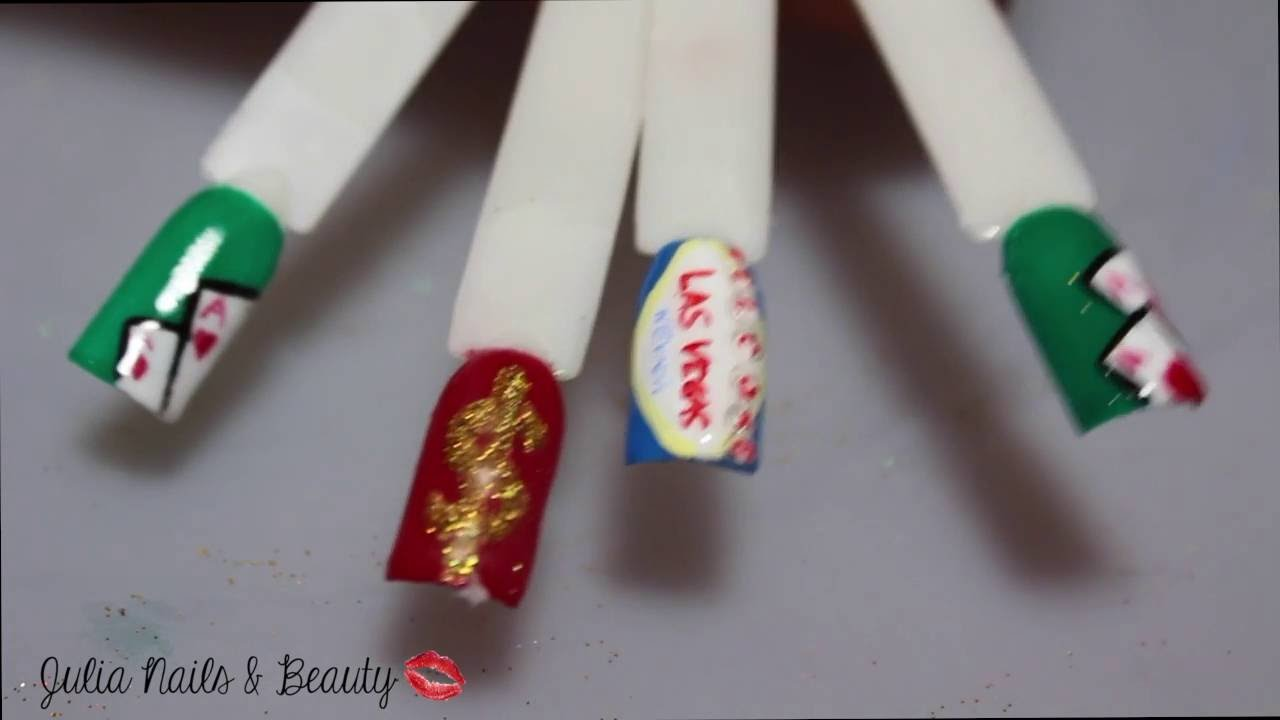 💅 NAIL ART 💅 LAS VEGAS NAILS - YouTube