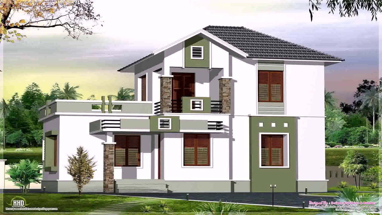 Small House Plans With Veranda - YouTube
