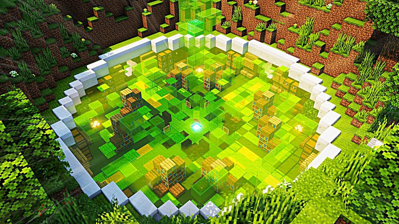 Minecraft Timelapse: UNDERGROUND HOUSE