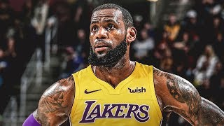 Lebron James Mix || Welcome to Los Angeles Lakers || See Me Fall ᴴᴰ