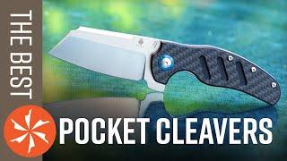 Best Pocket Cleaver Folding Knives of 2020 Available at KnifeCenter