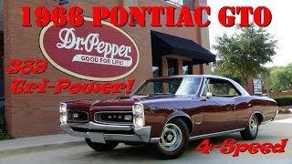 1966 PONTIAC GTO 389 4-speed TRI-POWER musclecar 4K review