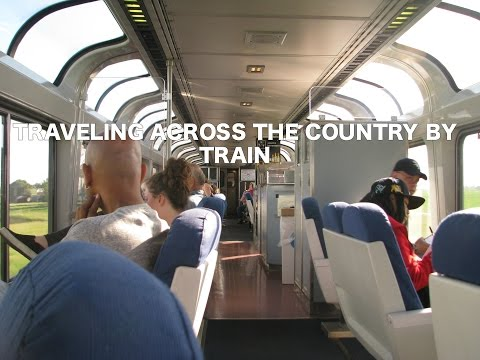 Traveling Across the Country by Train | Chicago to Los Angeles