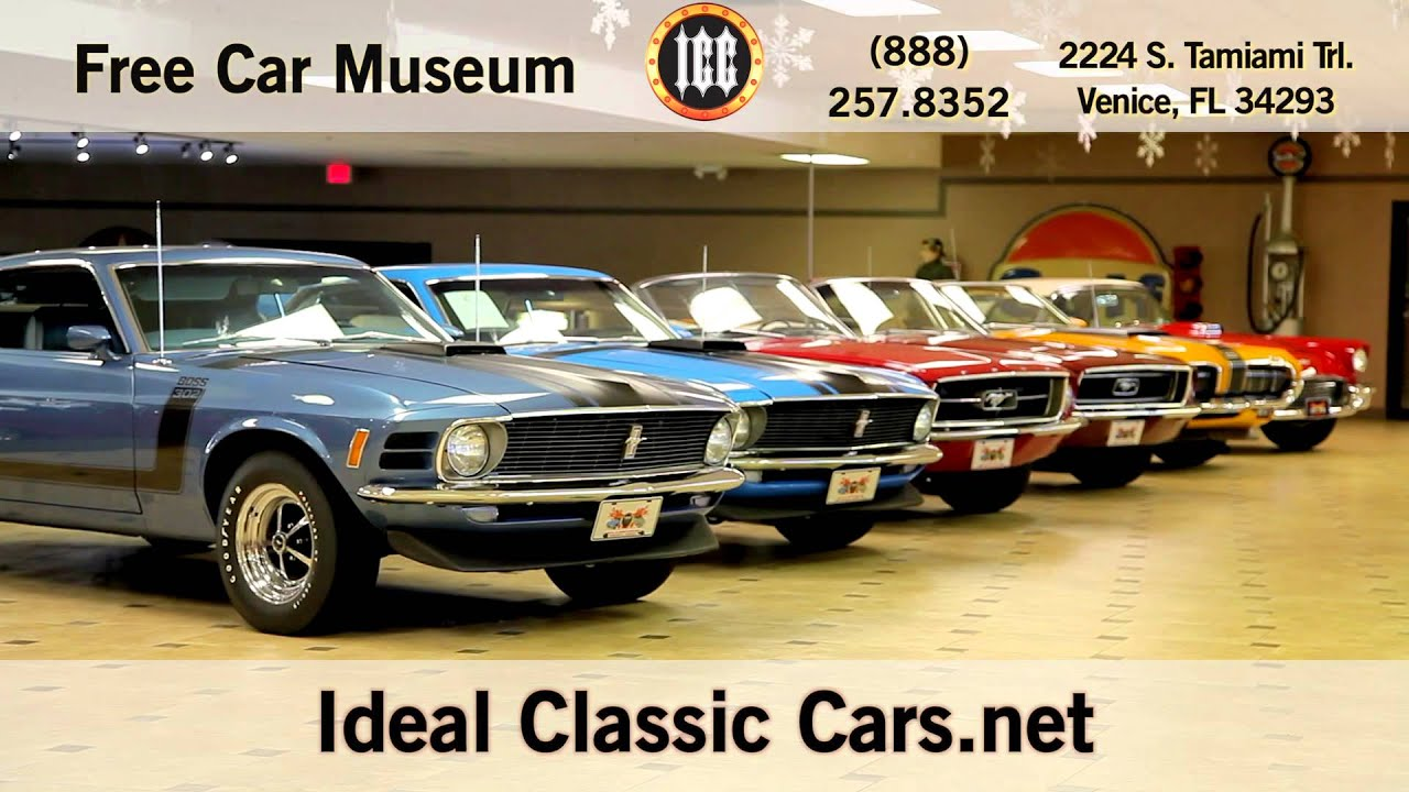 Ideal Classic Cars 30 Second Commercial Spot - YouTube