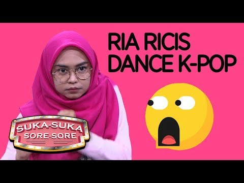 Ngakak Abis! Ria Ricis Joget K-Pop - Suka Suka Sore Sore (9/1) PART 1