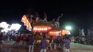 平成26年 太子町山田だんじり祭り 役場パレード 西 2014 07 26 土