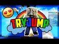 ERSTER WIN?! 😍 in Minecraft TRYJUMP auf MINESUCHT.NET 🐘Finnofant