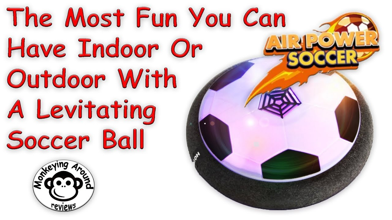 3eb652a1a440 Amazing Levitating Air Power Hover Soccer Ball by EpochAir review ...