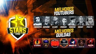 FREE FIRE - ????CAMPEONATO S.T.A.R.S LEAGUE???? MELHORES YOUTUBERS E GUILDAS NA DISPUTA DO GRANDE PR