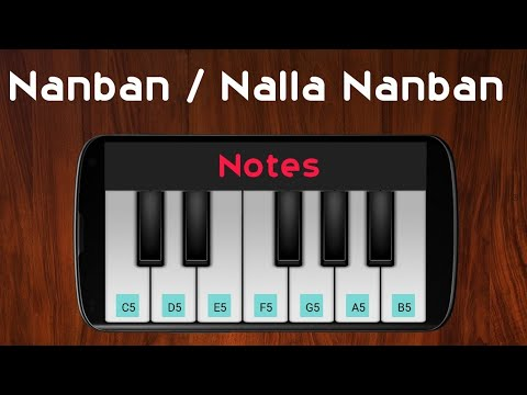 Nalla Nanban | Perfect Piano Cover | Notes In Comments