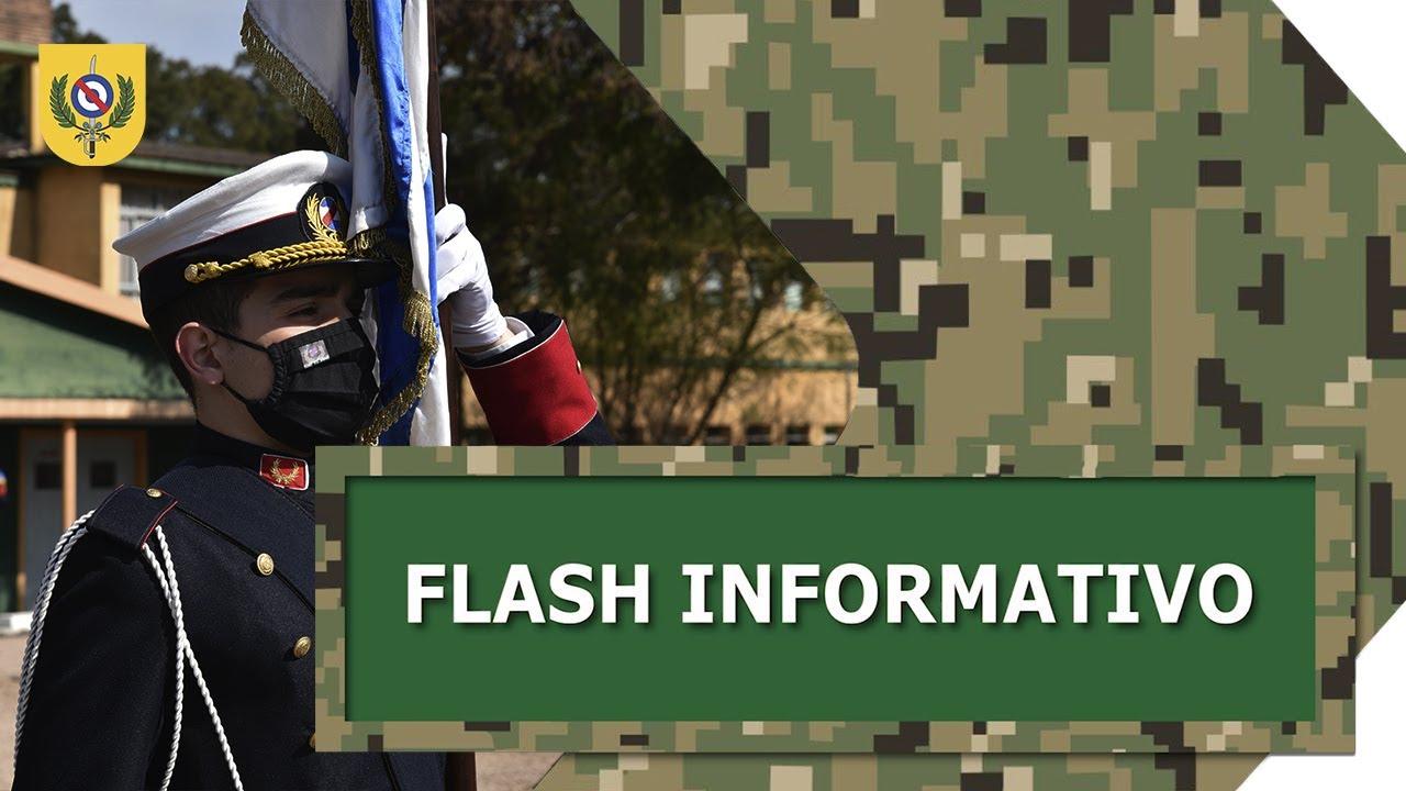 Flash Informativo - Jura de la bandera e Incineración de pabellones patrios