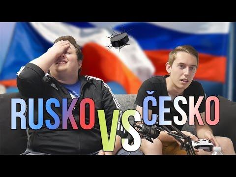 Rusko vs Česko v hokeji | NHL 17 | Rady vs Tomáš