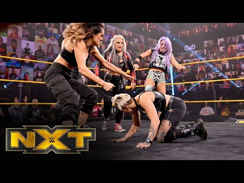 Team Candice makes a vicious statement ahead of WarGames: WWE NXT, Nov. 25, 2020