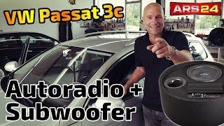 VW Passat 3c (Typ b6) Autoradio und Aktivwoofer einbauen   DNX5170BTS und Gladen RS10BRACTIVE