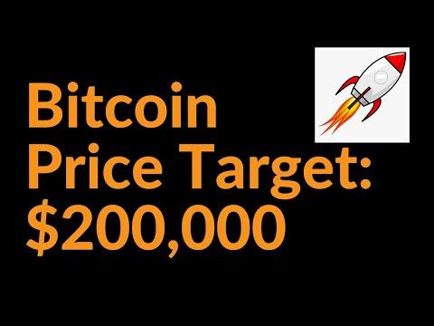 Bitcoin 2021 Price Target: $200,000