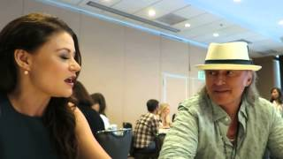 Robert Carlyle and Emilie de Ravin at Comic-Con 2015