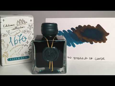 Inkspot Review: J. Herbin 1670 - Emerald of Chivor