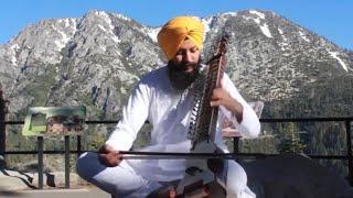 Raag Majh Composition of principal Sukhwant singh ji  Kirtankar Manbir singh (singapor)
