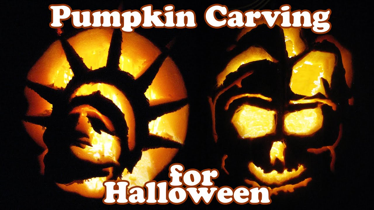 Pumpkin Carving Ideas Halloween Decorations Jack O Lantern How To ...