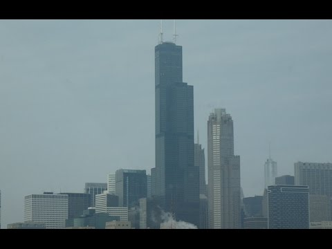 An AMAZING elevator ride, mini tour, and view at Willis Tower Skydeck in Downtown Chicago, IL.