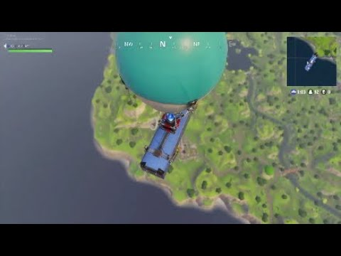 【Fortnite】Champion of Solo match in Oceania server