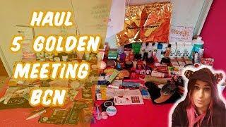 HAUL 5º GOLDEN MEETING BCN -  2 PARTE | Love For Pink