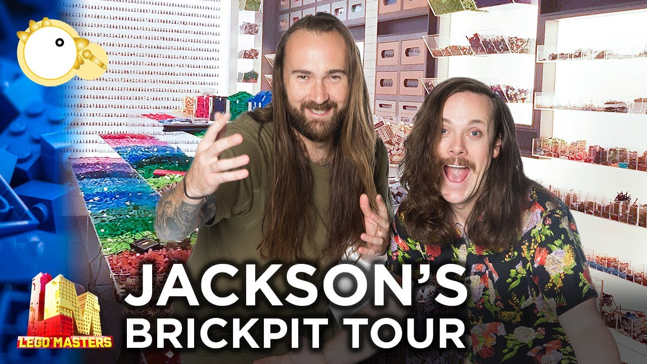 Exclusive BRICKPIT Tour with Jackson! | LEGO Masters Australia | CheepJokes
