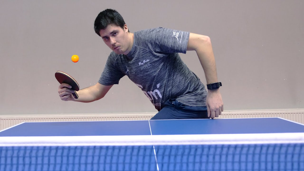 Table Tennis with an Olympic Player