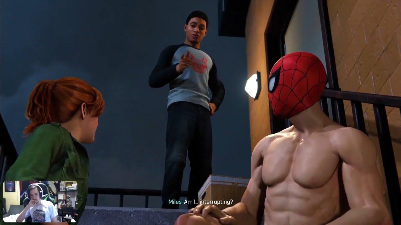 Naked Spiderman